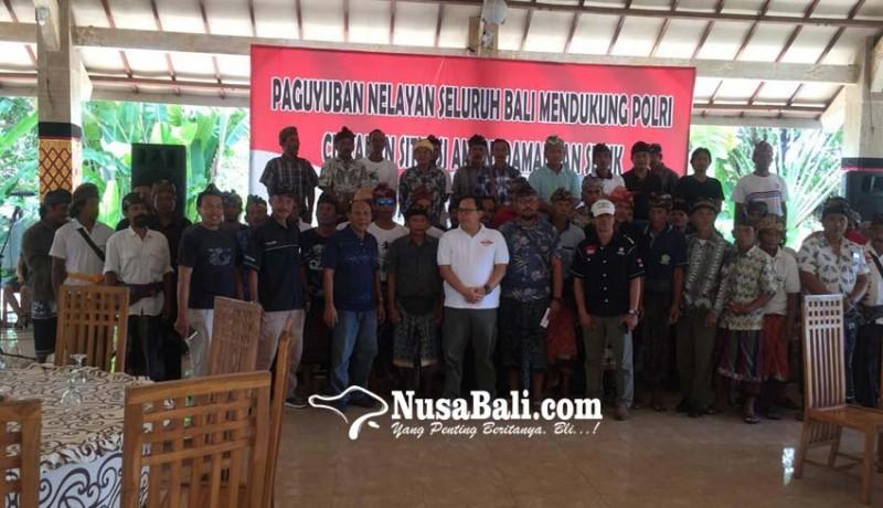 www.nusabali.com-paguyuban-nelayan-bali-komitmen-jaga-pemilu-damai