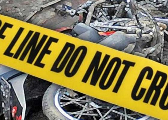 Nusabali.com - tabrakan-dengan-minibus-pelajar-sma-tewas-di-tkp