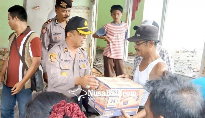 www.nusabali.com-polsek-negara-membantu-sembako-yonif-mekanis-gn-kerahkan-anggota