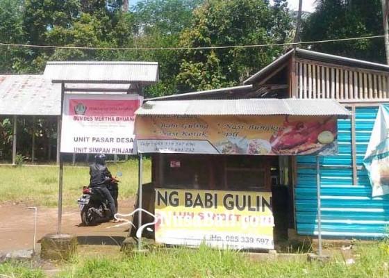 Nusabali.com - hanya-2-pedagang-di-pasar-desa-kayubihi