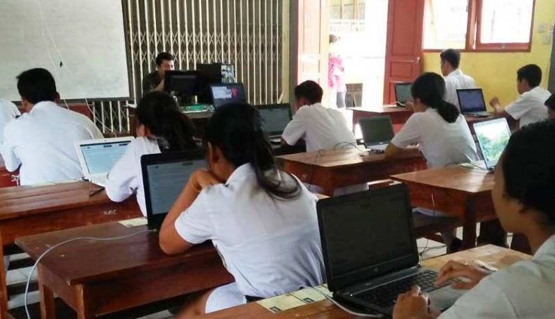www.nusabali.com-hari-pertama-11-siswa-tak-ikut-unbk-smk
