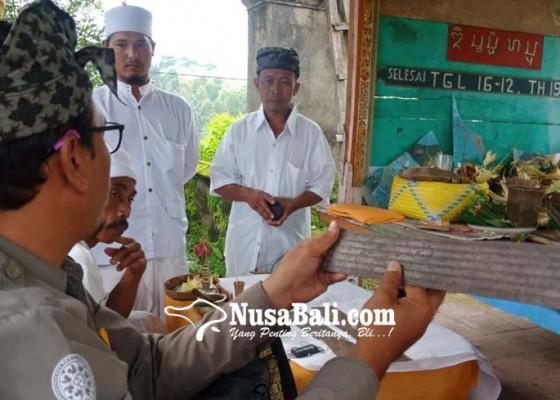 Nusabali.com - dibuat-di-zaman-raja-jayapangus-prasasti-kelandis-sempat-hilang
