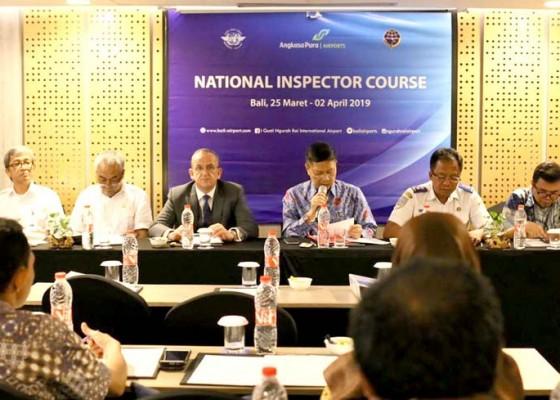 Nusabali.com - inspektur-keamanan-penerbangan-minim-kemenhub-gelar-pelatihan