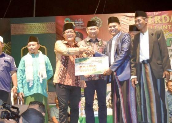 Nusabali.com - bupati-dan-wakil-bupati-hadiri-tabligh-akbar-gema-perdamaian-dari-bali-untuk-nkri
