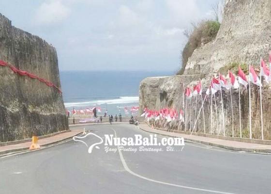 Nusabali.com - dana-desa-untuk-memotong-tebing