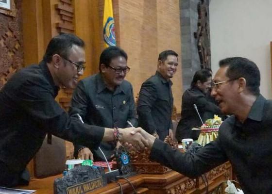 Nusabali.com - wakil-walikota-jaya-negara-sampaikan-lkpj-dan-dua-ranperda