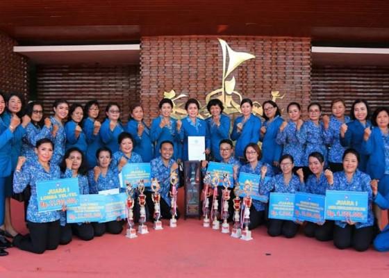 Nusabali.com - tp-pkk-klungkung-raih-juara-umum