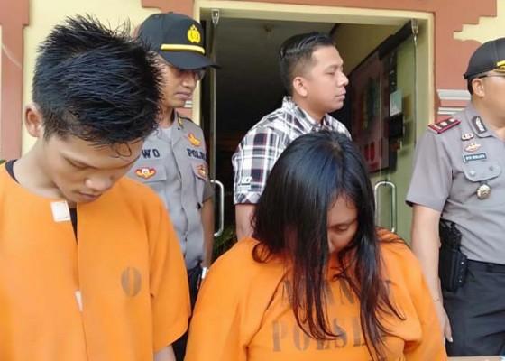 Nusabali.com - jadi-kurir-narkoba-pasangan-kekasih-diringkus
