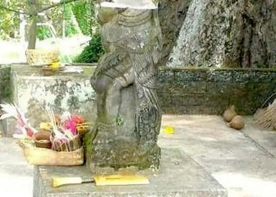 Nusabali.com - patung-pura-prajapati-dirusak-odgj