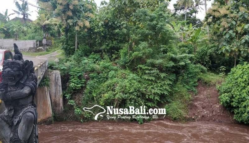 www.nusabali.com-senderan-jebol-dikhawatiri-mengancam-jembatan