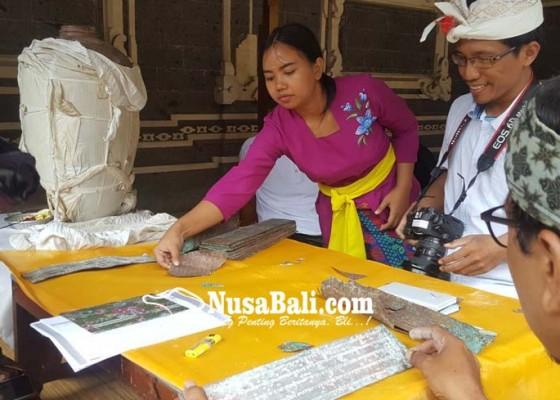 Nusabali.com - puluhan-lempeng-prasasti-tamblingan-di-review