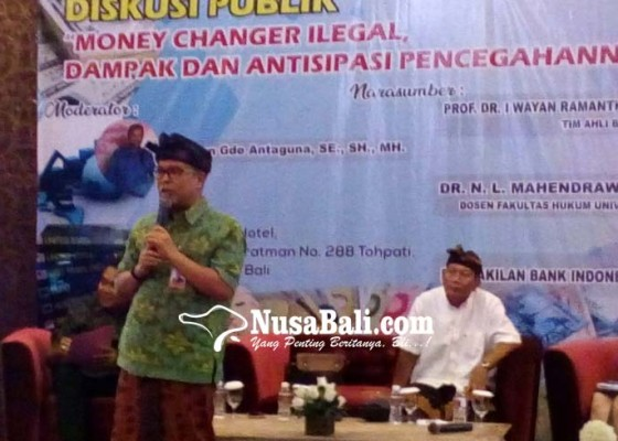 Nusabali.com - money-changer-ilegal-ganggu-bali