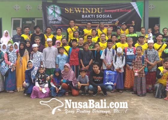 Nusabali.com - gmedia-dukung-bakti-sosial-sewindu-peace-bali