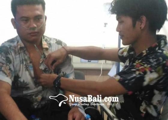 Nusabali.com - rumahnya-disambar-petir-pemuda-desa-surer-terluka