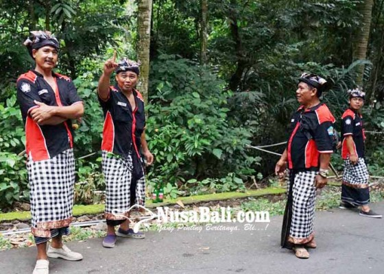 Nusabali.com - nyepi-di-ulakan-dijaga-28-pecalang-dan-34-prajuru