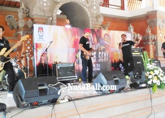 Nusabali.com - band-napi-tabanan-juara-i-lomba-musik-di-kpu