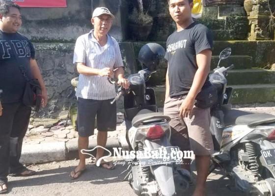 Nusabali.com - ditinggal-belanja-motor-hilang