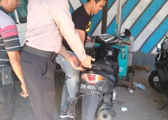Nusabali.com - polisi-amankan-motor-tak-bertuan
