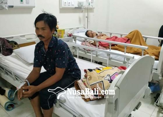 Nusabali.com - korban-bertumbangan-usai-tangkil-ke-pura-besakih