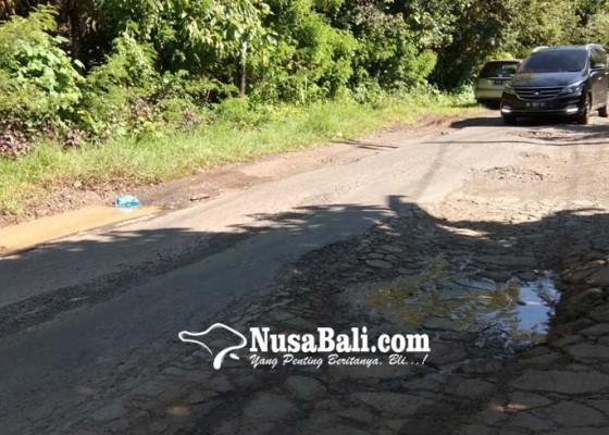 Nusabali.com - jalan-penghubung-desa-nusasari-ekasari-benyah