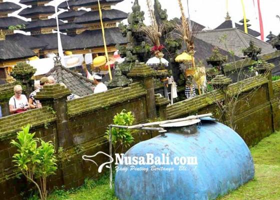 Nusabali.com - pdam-pasok-air-24-jam-ke-pura-besakih