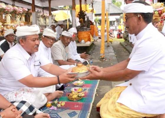 Nusabali.com - pemkab-bangli-ngaturang-bakti-penganyar-di-pura-agung-gunung-raung
