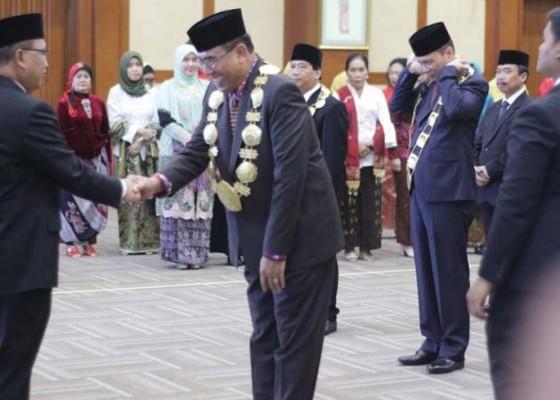 Nusabali.com - jampel-sah-jabat-rektor-undiksha-2019-2023