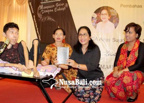 Nusabali.com - buku-karya-penyandang-disabilitas-dibedah