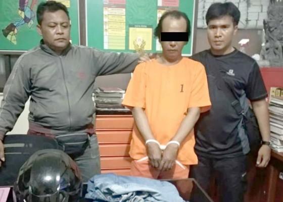 Nusabali.com - bobol-warung-ditangkap-saat-nonton-debat-capres
