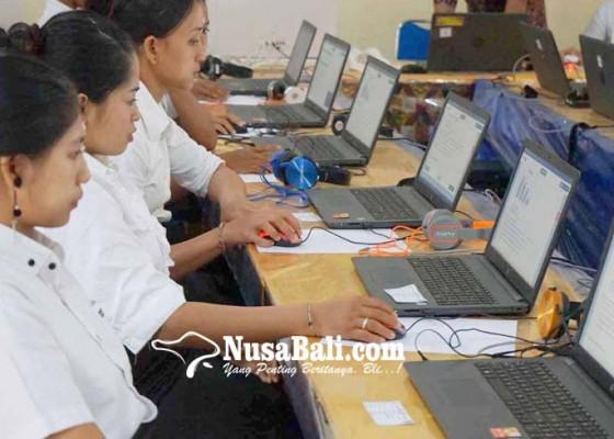 Nusabali.com - unbk-18-siswa-paket-c-di-karangasem-tak-hadir