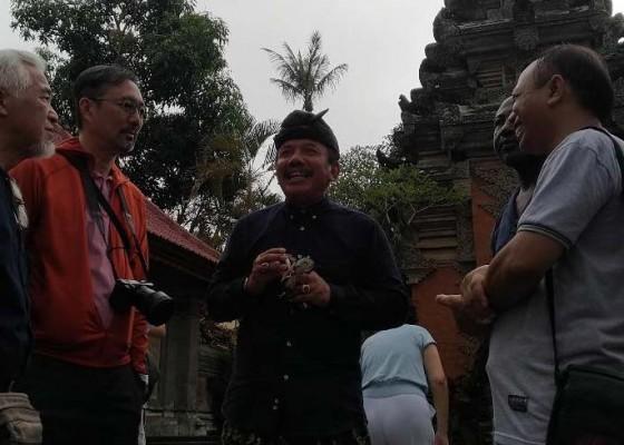 Nusabali.com - peserta-seminar-icbme-kunjungi-puri-ubud
