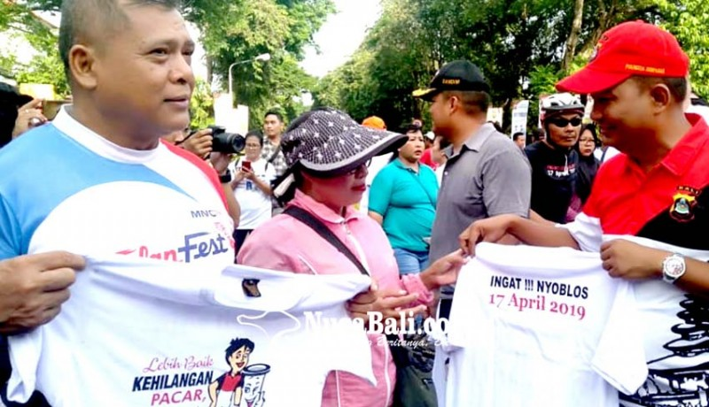 www.nusabali.com-polresta-kodim-gelar-gerakan-anti-golput