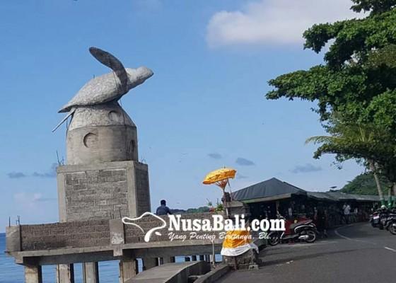 Nusabali.com - proyek-patung-penyu-mampet