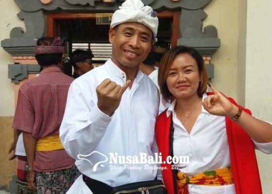 Nusabali.com - lolak-dek-ulik-nyoblos-di-kamasan