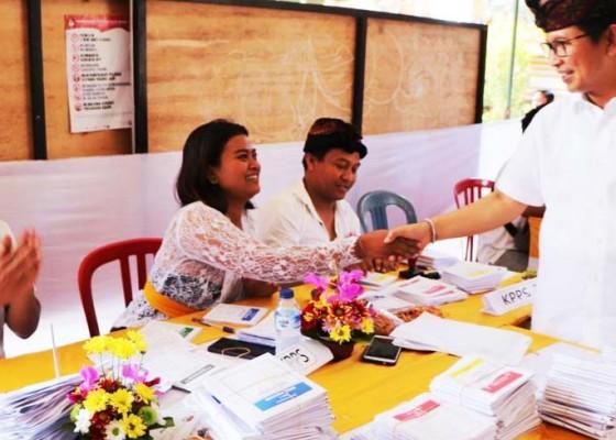 Nusabali.com - sekda-badung-pimpin-tim-kabupaten-pantau-pemungutan-suara