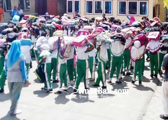 Nusabali.com - peringatan-hkbn-sekolah-dilatih-siaga-bencana