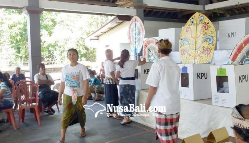 www.nusabali.com-tps-ketua-bawaslu-klungkung-kurang-surat-suara-dpd
