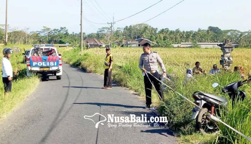 www.nusabali.com-tabrak-pantat-truk-pemotor-tewas-di-tempat