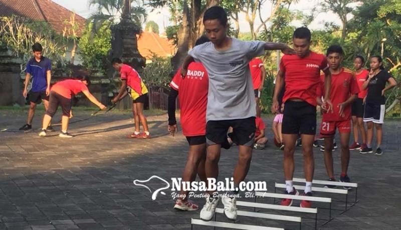 www.nusabali.com-badung-genjot-fisik-atlet-kabaddi