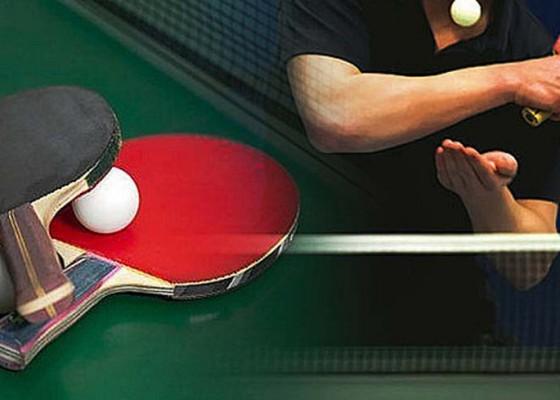 Nusabali.com - parwata-buka-turnamen-tenis-meja-di-dalung-permai