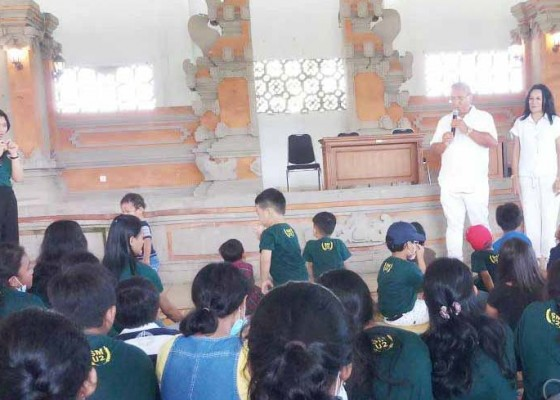Nusabali.com - parwata-hadiri-perayaan-paskah-anak-anak-sekolah-minggu-di-puspem-badung