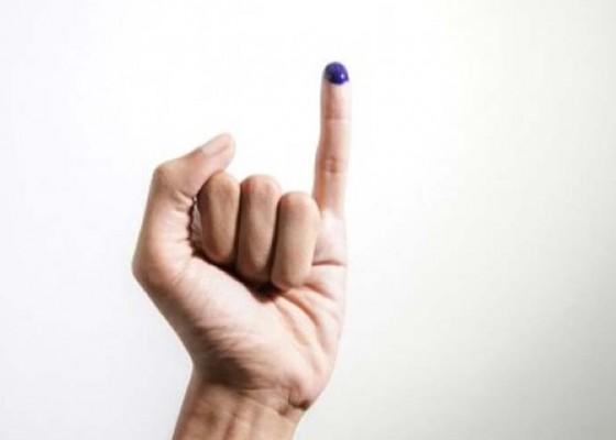 Nusabali.com - salah-coblos-partai-jari-dipotong