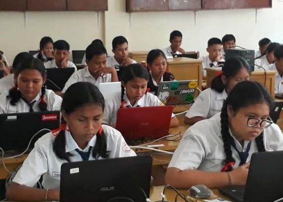 Nusabali.com - sakit-3-siswa-absen-unbk-hari-i