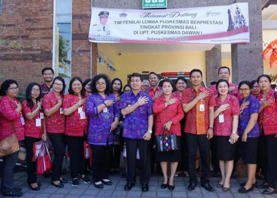 Nusabali.com - puskesmas-dawan-i-dinilai-tim-provinsi
