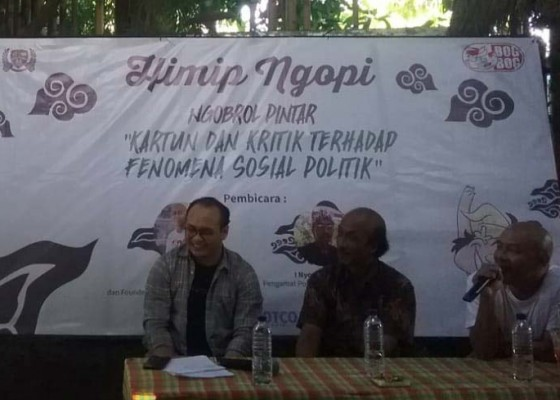 Nusabali.com - melihat-politik-dalam-kartun