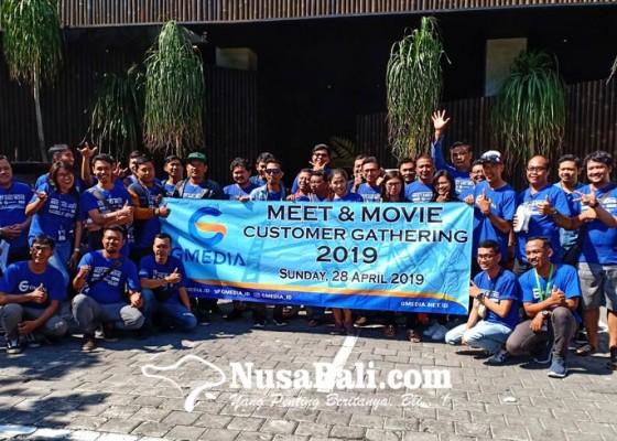 Nusabali.com - gmedia-bali-ajak-pelanggan-nonton-bareng-avengers-endgame