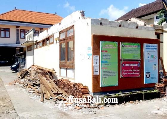 Nusabali.com - kantor-dinas-tenaga-kerja-direnovasi