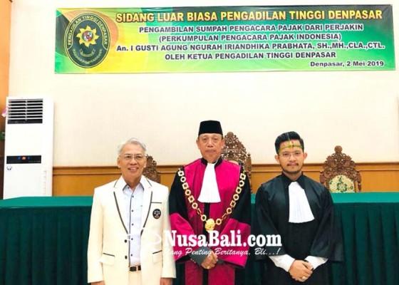 Nusabali.com - pt-denpasar-lantik-pengacara-pajak-kedua-di-bali
