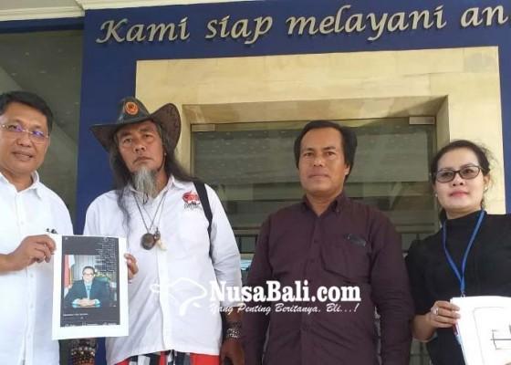 Nusabali.com - dihujat-lewat-fb-adi-wiryatama-pun-lapor-ke-polda-bali