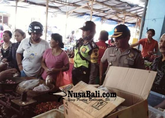 Nusabali.com - polsek-bangli-antisipasi-penimbunan-sembako